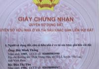 Cần tiền gấp bán ô đất 200m2 tuyệt đẹp, 100% thổ cư tại Minh Quang Tam Đảo, giá cực mềm