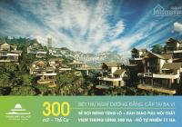Bán biệt thự nghỉ dưỡng tại Ba Vì sổ đỏ 100% thổ cư Thang Mây Village khai thác du lịch hiệu quả