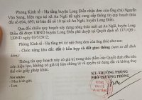 2 Lô đất liền kề thổ cư 200m2 mặt tiền QL44A, Long Điền, Long Hải, An Ngãi