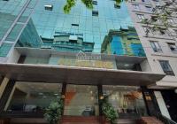 Cho thuê nhà phố Đặng Tiến Đông view hồ Đống Đa DT 130m2, 4T MT 14m cà phê VP, thang máy, 60tr/th