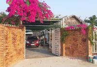 Chính chủ bán nhà vườn 1711m2 Phước Vĩnh Tây, sẵn nhà vườn ao cá, SHR, đường xe - hơi giá: 3,4 tỷ
