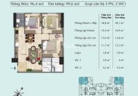 Chính chủ bán căn 03PN Eurowindow River Park 96,4m2 tầng 16 giá 1.795tỷ bao phí