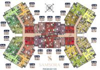 Chính chủ bán căn hộ số 24 ban công Đông Nam, DT 70m2 chung cư Samsora Premier, Hà Đông
