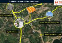 Mở bán 12 lô Hoa Hậu trong Tái định cư Linh sơn, sát vách CNC Hòa Lạc, cách Tỉnh lộ 420 chỉ 400m.