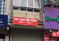 Cho thuê nhà kinh doanh, mặt phố Khúc Thừa Dụ. Diện tích 40m2 x 2 tầng, mặt tiền 4m hè rộng