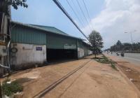 Cho thuê kho xưởng ngay mặt tiền đường dt747 dt: 500m2 giá 38 triệu/tháng