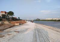 Tôi Cần Bán lô đất trục chính gần bờ kè sông Hồng thôn Thái Bình  Mai Lâm Giá nhỉnh 1.6 tỷ