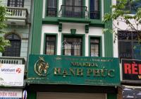Tôi cho thuê nhà mặt phố Trần Kim Xuyến - Trung Hòa, DT 100m2 * 5 tầng + hầm, thông sàn. Giá 55tr