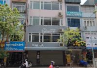 Cho thuê nhà, phố Trần Quốc Hoàn, diện tích 65m2 5,5T, MT, 7,5m, thang máy giá 35tr, LH 0912567209