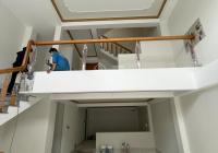 Bán nhà 2 lầu trục chính hẻm 16b Mậu Thân. Hẻm oto. DT ngang 5.8m dài 13m. Nhà mới hoàn thiện.
