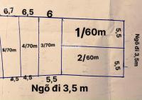 Bán gấp 5 lô đất tại thông Vạn Tải - Hồng Phong - Nam Sách chỉ 410tr/lô