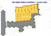Bán đất thổ cư đường 1, phường Linh Xuân cách mặt tiền đường 1 chỉ 30m