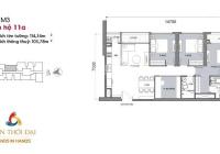 Bán căn hộ 115m2 tòa M3 dự án Vinhomes 29 Liễu Giai