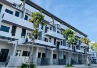Nhà đất Long An, KDC cao cấp ven sông 6x21m thanh toán 30% nhận nhà, sổ hồng cam kết thuê lại 40tr