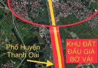 Tôi chính chủ 100% cần bán LK1 - 9 đất đấu giá Bờ Vải, Kim Thành, Kim Thư, Thanh Oai, Hà Nội