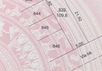 Cần bán gấp lô đất diện tích 5x22 giá 1tỷ, nằm ngay trung tâm TP Cà Mau