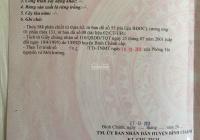 Cần bán 300m2 đất thổ cư Bình Chánh, xã Tân Quý Tây, đường Đoàn Nguyễn Tuấn 0902792298
