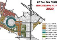 Bán liền kề Hinode Royal Park Kim Chung Di Trạch từ 63tr/m2 trực tiếp CĐT, CK 6%, vừa ở vừa KD
