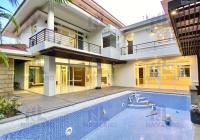 Siêu villa Thảo Điền sân vườn, hệ thống tự động cho thuê, Nguyễn Ư Dĩ 180 triệu có 1 không 2