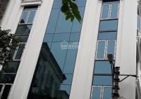 Cho thuê nhà MP Thái Thịnh, lô góc, 150m2 * 7 tầng 1 hầm, thông sàn, giá 180 tr/th, LH 0968120493