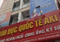 Chính chủ bán căn Nguyễn Thái Sơn, P. 4, Gò Vấp, DT: 12x25m, trệt lửng 5 lầu, ĐCT 80tr/th, 25 tỷ TL