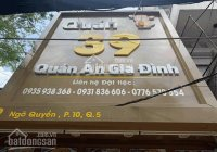 Cho thuê nhà mặt tiền 39 Ngô Quyền, P10, Quận 5