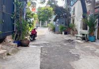 Nhà cũ hẻm xe hơi Nguyễn Văn Luông P11 Q6. 4,7 x 10m nở hậu CHỮ L 6,9m (53,7m2) cách mặt tiền 1căn