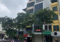 Cho thuê nhà MP Khúc Thừa Dụ - Cầu Giấy 65m2 6 tầng 1 hầm, MT 5m. Thông sàn thang máy giá 75tr/th