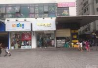 Cho thuê kiot tòa HH Linh Đàm DT 80m2, MT 7m giá 65tr/tháng