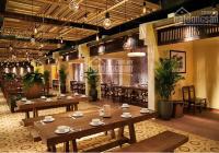 Cho thuê nhà mặt phố Trần Quốc Hoàn 100m2 x 4T, MT 8m, thông sàn vị trí đẹp LH: 0965957598
