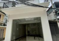 Cho thuê nhà phố Quang Trung, Hà Đông diện tích 80m2, 4 tầng, mặt tiền 4,5m thông sàn T1 giá 16tr