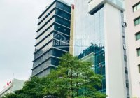 Siêu hiếm tòa nhà VP mặt phố Thái Thịnh, Đống Đa, DT: 130m2 x9 tầng, mặt tiền khủng 18m