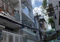 Nhà hẻm xe hơi 53m2 xây 1 lửng 3 lầu 6 phòng có toilet riêng đường Hồ Thị Kỉ, P1, quận 10 giá rẻ