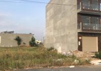 Bán đất 125m2, có sổ hồng riêng, giá 1tỷ200, nằm ngay cổng khu công nghiệp, đường Trần Văn Giàu