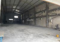 Cho thuê gấp kho xưởng Quận Bình Tân, DT 480m2, giá rẻ - Vị trí 2 mặt tiền phù hợp kinh doanh