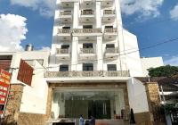 Cho thuê tòa nhà mới xây MT Phan Văn Trị - DT 9x22m, 8 tầng - Gần ngã 4 Nơ Trang Long
