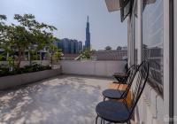 Cho thuê biệt thự Trần Não view Landmark 81 sát sông giá 55 triệu 7 phòng full nội thất nhà cực đẹp