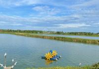 5ha 300m2 TC giá 520tr/1000m2, 260m mặt tiền nhựa view hồ lưng tựa đồi thích hợp đt sinh thái