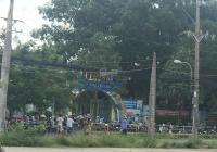 Bán đất mặt tiền đường Trần Văn Chẩm, 115m2, đối diện trường học
