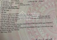 Bán nhà MT đường Văn Cao, P. Phú Thọ Hòa, Q. Tân Phú (DT: 8x20m, 3.5 tấm, giá 27 tỷ)