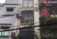 Cho thuê nhà: Đường Chiến Thắng, Văn Quán 40m2 (5 tầng) 4PN, 3 điều hòa, ngõ ô tô tải (16tr)