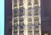 Tôi cho thuê tòa nhà mới xây xong MP Hoàng Quốc Việt, dt 300m2 8 tầng + 1 hầm mt 10m giá 380tr/th