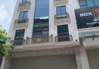 Cho thuê nhà MP Yên Thế: 80m2 x 5 tầng, MT 9m, nhà mới, thông sàn, có sân, riêng biệt LH 0974557067