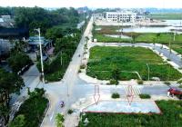 Bán đất đấu giá lô góc 2 mặt tiền 5m, 17m, cách 2 trường học 50m, đường đôi 24m, Sài Sơn, Quốc Oai
