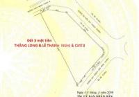 Cần bán lô đất 6000m2 lô đất 3 mặt tiền đườnG Thăng Long, CMT8 và Lê Thanh Nghị. LH: 0987901827