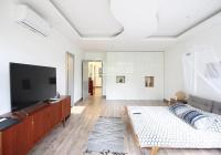 Cho thuê biệt thự Tô Ngọc Vân, 250m2 xây 170m2 x 3 tầng, 06 PN nhà góc 02 mặt tiền lớn giá 50tr/th