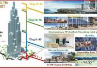 Bán căn hộ 4PN toà Land Mark 81 trực tiếp từ CDT view trực diện sông và công viên giá 29,34 tỷ