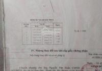 Cần tiền bán gấp lô đất 5x19m gần ngã 5 Tam Đông Hóc Môn Giá 2tỷ6, LH 0785315033 (A. Lâm)