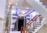 Nhà mới hẻm 8m Hồ Học Lãm, Bình Trị Đông B, Bình Tân, 4 x 14m vuông vức (52,7 m2) có 5 phòng, 4WC