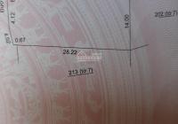 Chính chủ cần bán thửa đất mặt tiền 24m, An Tảo, TP Hưng Yên, giá: 6,8 tỷ; LH: 0967819777